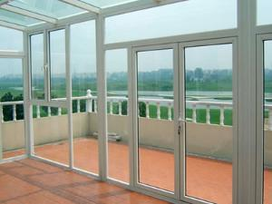 Aluminium Casement Door